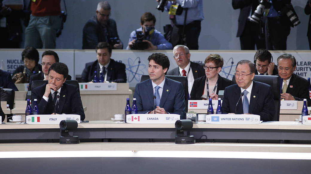 The Prime Minister of Canada concludes his visit to Washington and to the 2016 Nuclear Security Summit