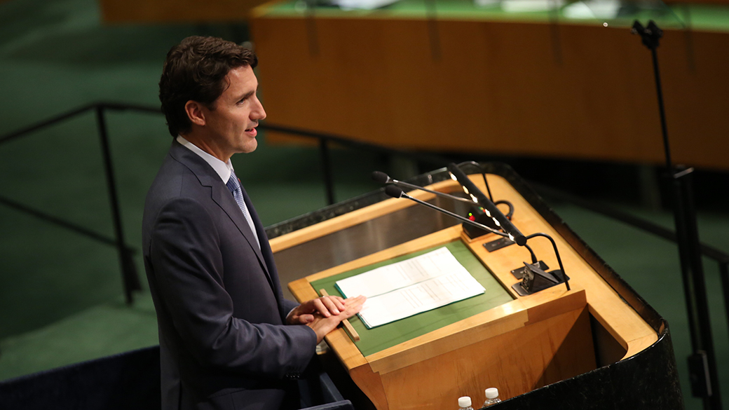 Prime Minister Justin Trudeau's Address to the 71st Session of the United Nations General Assembly