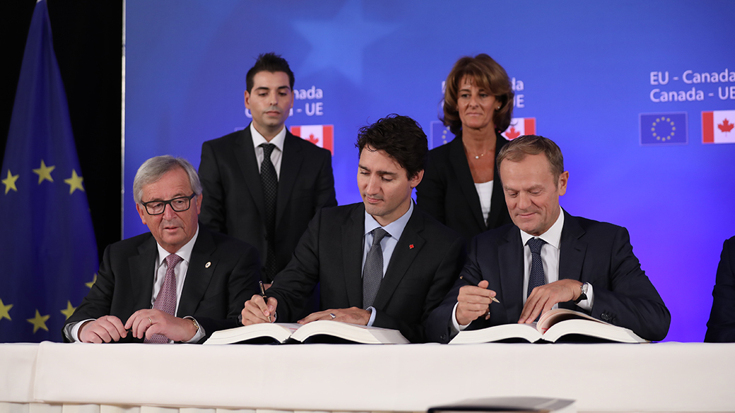 Canada and EU sign historic trade agreement during EU-Canada Summit