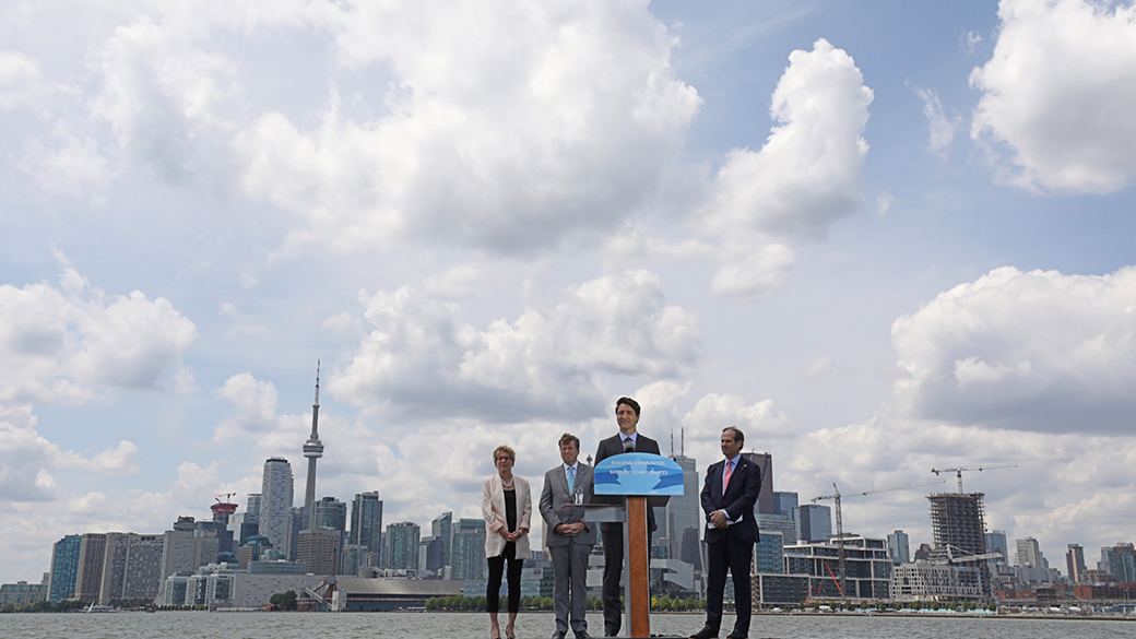 Governments of Canada, Ontario and Toronto announce funding to protect and transform Toronto's Port Lands