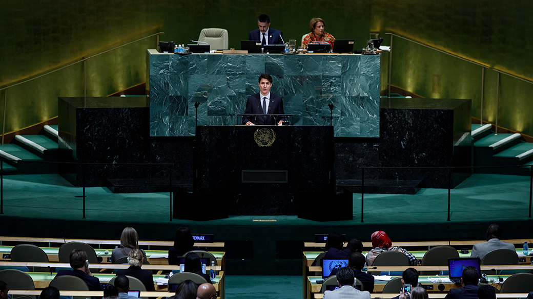 Prime Minister Justin Trudeau's Address to the 72<sup>th</sup> Session of the United Nations General Assembly