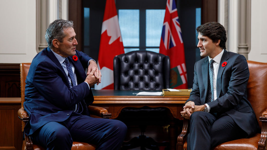 Prime Minister Justin Trudeau meets with Manitoba Premier Brian Pallister |  Prime Minister of Canada