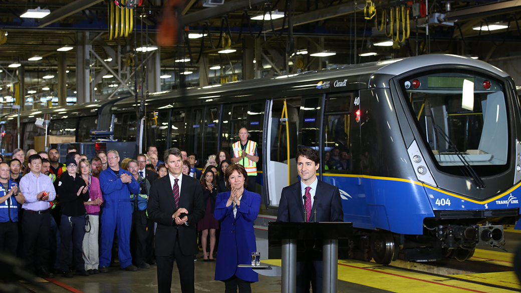 Prime Minister announces new infrastructure agreement with British Columbia