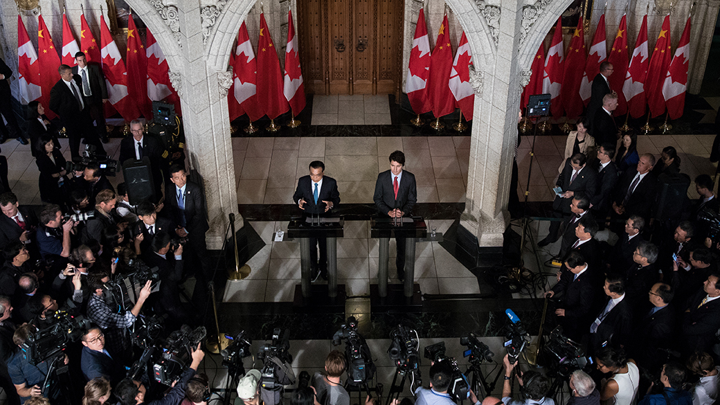 Joint Statement Between Canada and the People's Republic of China