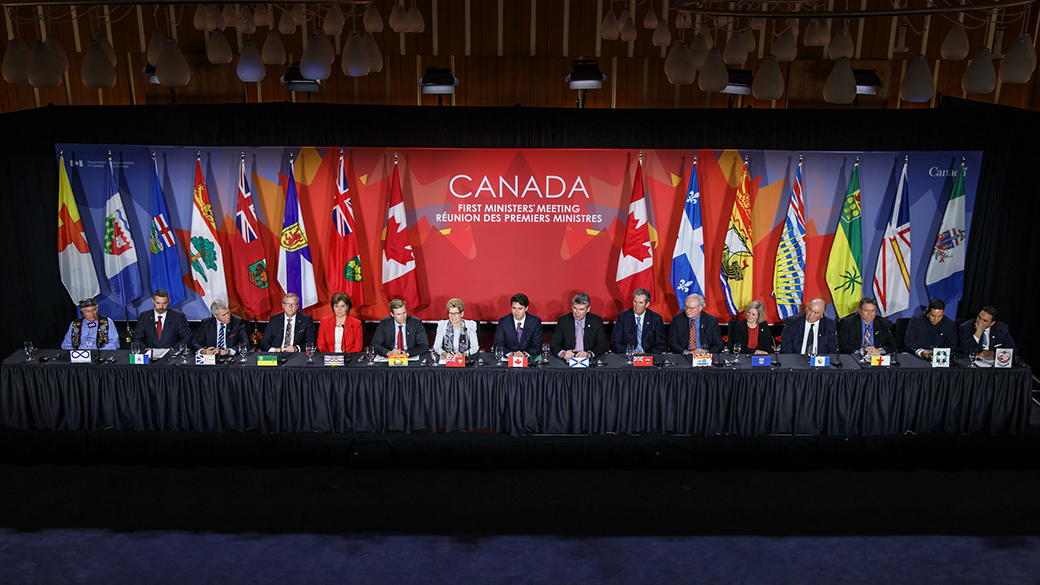 First Minister's meeting in Ottawa