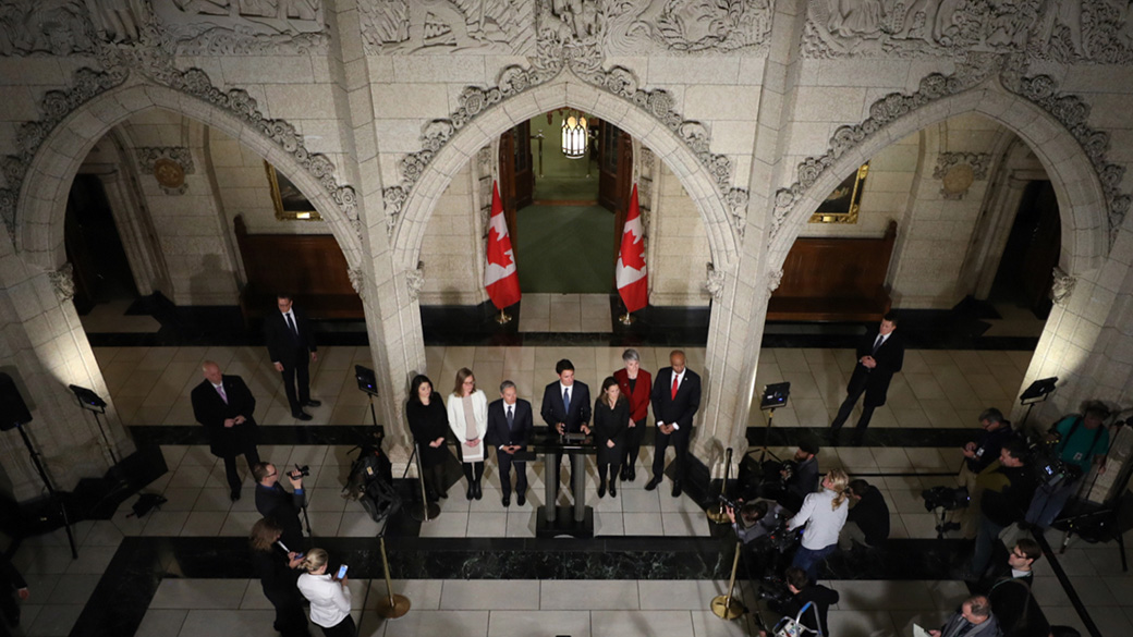 Statement by the Prime Minister of Canada on changes to the Ministry