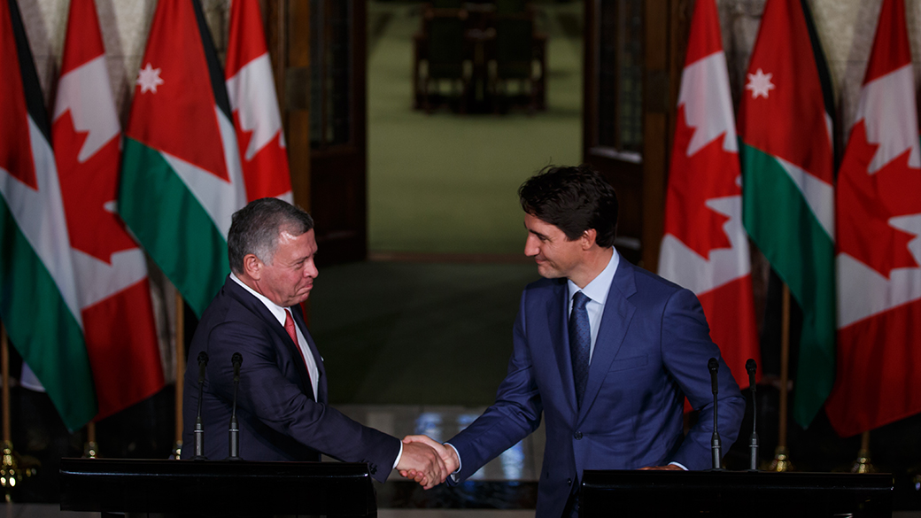 Canada provides support for initiatives in Jordan and the Middle East