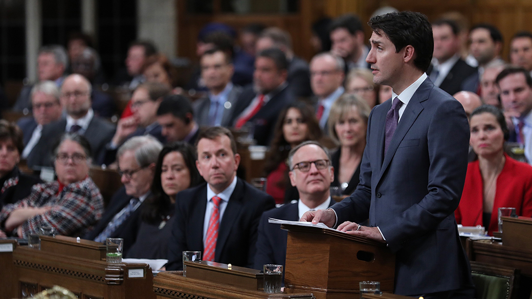 Prime Minister Justin Trudeau apologizes to LGBTQ2 Canadians in the House of Commons