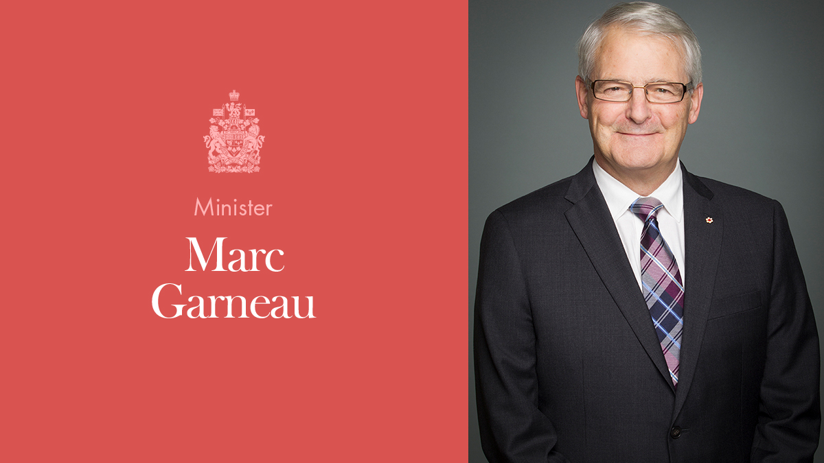 The Honourable Marc Garneau | Prime Minister of Canada