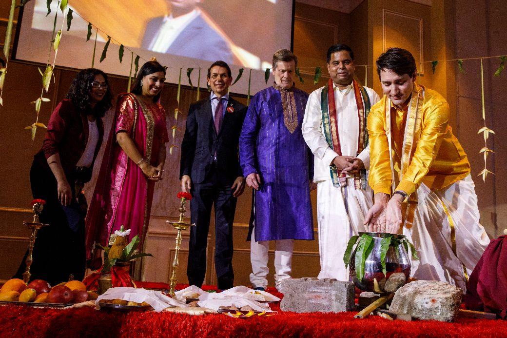 Prime Minister Justin Trudeau and MP Gary Anandasangaree